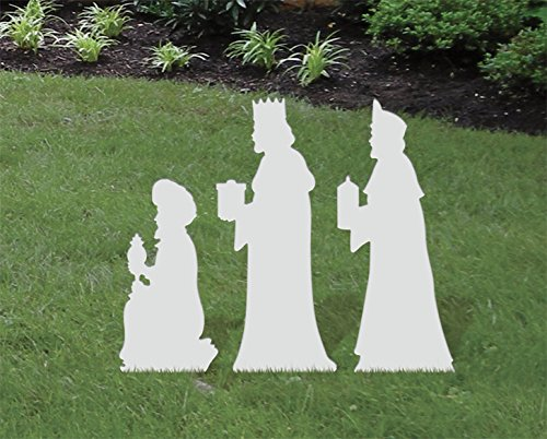 Front Yard Originals Medium Three Kings ADD-ON Set (Outdoor Nativity Decor Scene Christmas)