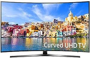 سامسونج 55 انش منحني تلفزيون ذكي فضي - 55KU7500