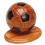 Bits and Pieces - 3D - Wooden Soccer Ball Puzzle - Dimension in Wood - 3D Jigsaw Puzzle - Sports Puzzle