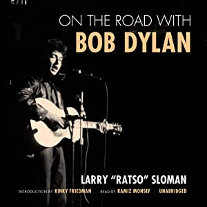On the Road with Bob Dylan Audiobook