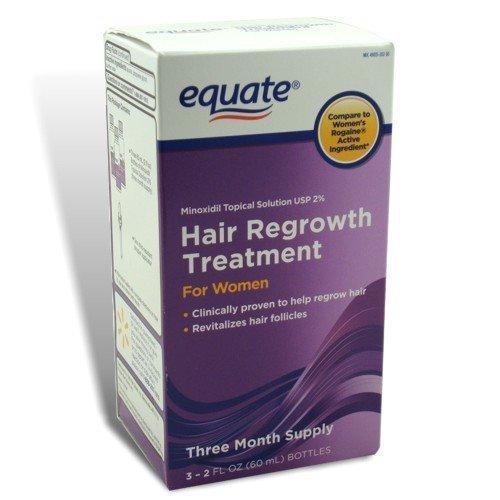 Equate Regrowth Treatment Minoxidil Wal Mart