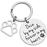 VANLOVEMAC Loss of Pet Memorial Keychain Dog Cat Remembrance Jewelry Pet Sympathy Gift…