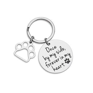 Amazon.com: VANLOVEMAC Llavero conmemorativo para perro ...