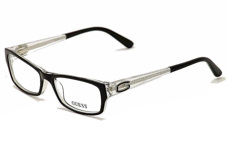 GUESS Eyeglasses GU 2373 Black Crystal 51MM at Amazon Men\'s Clothing ...