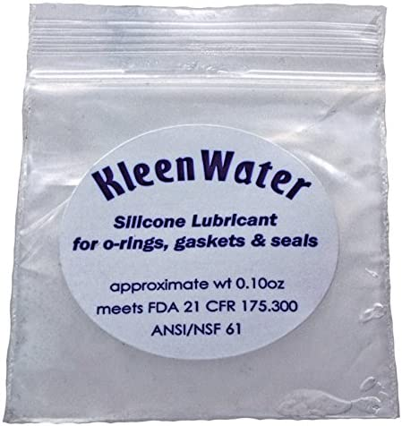 OR-34 Culligan Compatible Orings with KleenWater Silicone Lubricant 1 Fits Water Filter Housings HF-360A and HF-150A 2