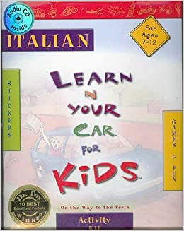 Italian Activity Kit: On the Way to the Festa (Learn in Your Car for Kids)