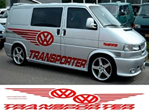 VW T4 T5 CADDY TRANSPORTER CUSTOM CAR VAN GRAPHICS ...
