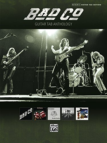 Bad Company - Guitar TAB Anthology: Authentic Guitar TAB Sheet Music ()