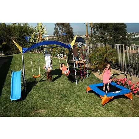 IronKids Inspiration 700 Fitness Playground Metal Swing S...