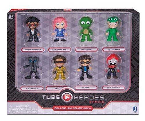 Tube Heroes Gaming Deluxe Mini Figure Pack