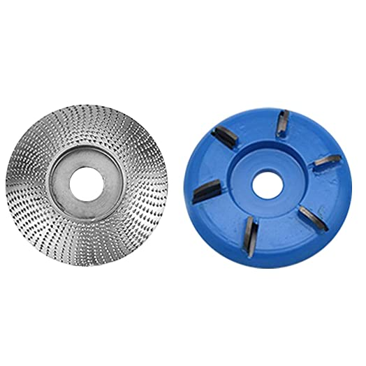 Grinder Shaping Disc Tungsten Carbide Angle Grinder 5 8 inch Wheel Woodworking Angle Grinder Disc for Angle Grinder,Woodworking Sanding Plastic Piercing Wheel 16mm, BLUE AND SILVER