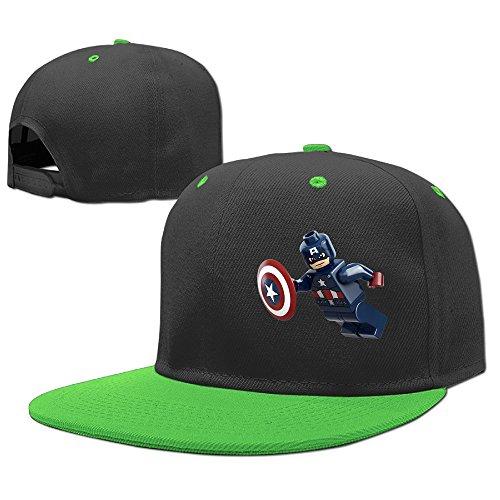 Price comparison product image MEGGE Lego Unisex Unisex Hip-hop Baseball Cap - KellyGreen