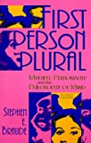 First Person Plural, Stephen E. Braude, 0847679969