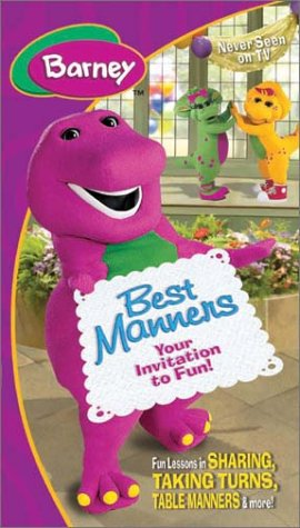 Barney - Best Manners (Invitation To Fun) [VHS] by HIT