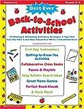 Best-Ever Back-to-School Activities, , 0439304628