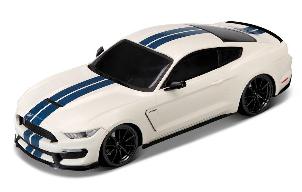Maisto Ford Shelby GT350 81248 Weiß / Blau, 27 MHz, 1:14 R/C