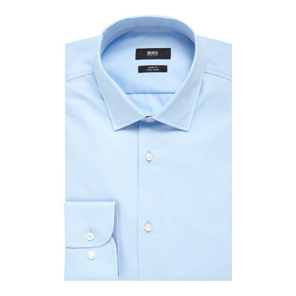 (ヒューゴ ボス) Hugo Boss メンズ トップス シャツ Jesse Slim Fit Contrast Trim Shirt [並行輸入品] B07FC7MZZB 17