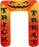 8' Airblown Archway Kaleidoscope Trick or Treat Halloween Inflatable