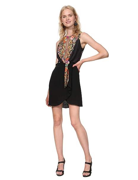 4377ff216945 Desigual - Dress Sleeveless Vilma Woman Black