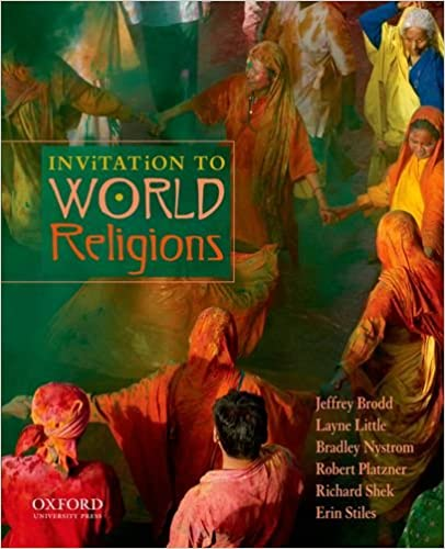 Amazoncom Invitation to World Religions 9780199738434 Jeffrey