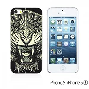 OnlineBestDigital - Animal Style Designer Hard Case Cover for Apple iPhone 5S / Apple iPhone 5 - Lion