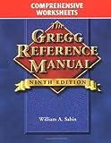 Gregg Reference Manual, Comprehensive Worksheets 9780028040509