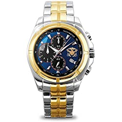 "U.S. Navy ""For My Sailor"" Chronograph Men's Watch"