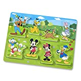 Melissa & Doug Mickey Mouse Clubhouse Wooden Chunky Puzzle