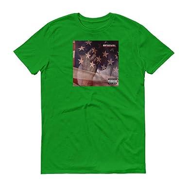Eminem Revival Album Cover T Shirt Kamikaze Killshot Green Apple