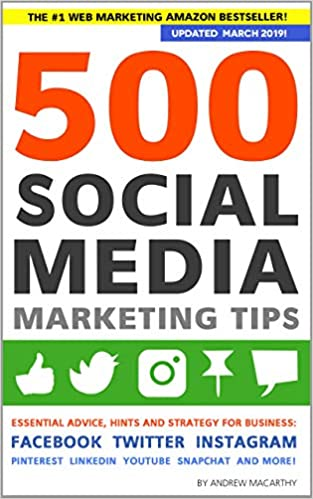 ef1dca4cfdb Amazon.com  500 Social Media Marketing Tips  Essential Advice