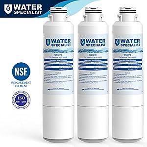 Waterspecialist DA29-00020B Refrigerator Water Filter Replacement for Samsung DA29-00020B, DA29-00020A, HAF-CIN/EXP, 46-9101, 3 Pack