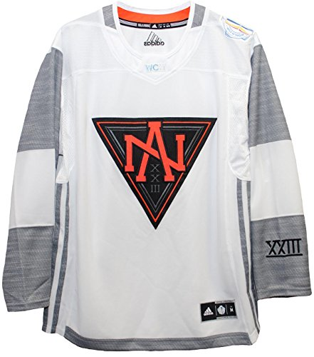 Men's North America White 2016 World Cup of Hockey Premier Blank Jersey by Adidas (X-Large)