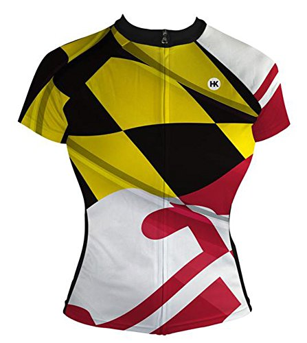 Cycling Jersey Maryland - Hill Killer 'Pride of Maryland' Women's Cycling Jersey (Medium)
