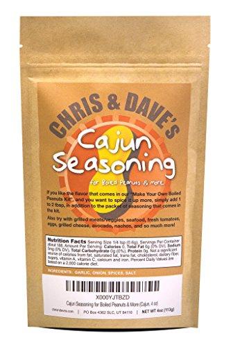 - Cajun Seasoning for Boiled Peanuts & More (Cajun, 4 oz)