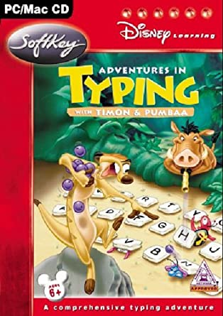 Disney Learning Adventures In Typing With Timon Pumbaa Amazonco