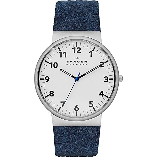 Skagen-Mens-SKW6098-Ancher-Blue-Leather-Watch