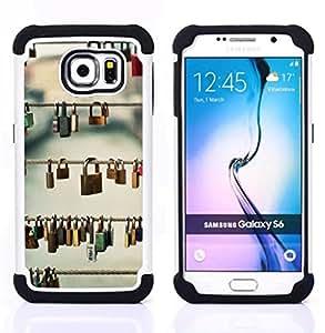 For Samsung Galaxy S6 G9200 - metaphor deep meaning Prague Love Dual Layer caso de Shell HUELGA Impacto pata de cabra con im??genes gr??ficas Steam - Funny Shop -