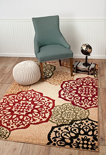 Summit S10 New Area Rug Modern Abstract Rug, 2x3 2x7 4x6 5x8 8x10 (5x8 Actual is 4'.10''x7'.2'') - Made in Turkey Wool blended heat set olefin twisted yarn No fringe for clean design - living-room-soft-furnishings, living-room, area-rugs - 511W9AV9umL -