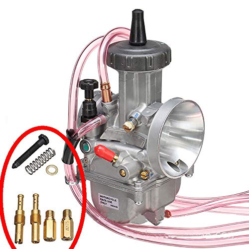 Accesorios y piezas Rrd Keihin Carburador 34 36 38 40 Mm para Pwk Keihin Motocicleta Carb Carburador Scooter universal Utv...