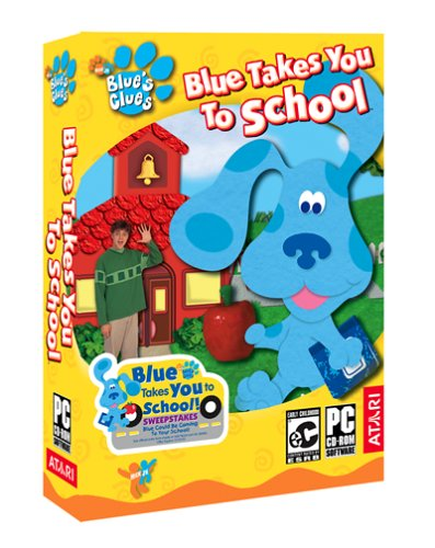 (Blues Clues: Blue Takes You To School - PC )