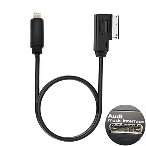 Amazoncom ELONN Compatilbe IPod IPhone AMI Cable Replacement For - Audi ami cable