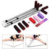 langomke Leg Stretcher 3 Bar Leg Split Yoga Stretching Equipment Portable Flexibility Training Machine for Ballet Home, Gym Fitness, Martial Arts Stretch