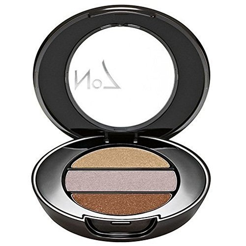 (BOOTS No7 Stay Perfect Eye Shadow Trio Cappuccino)