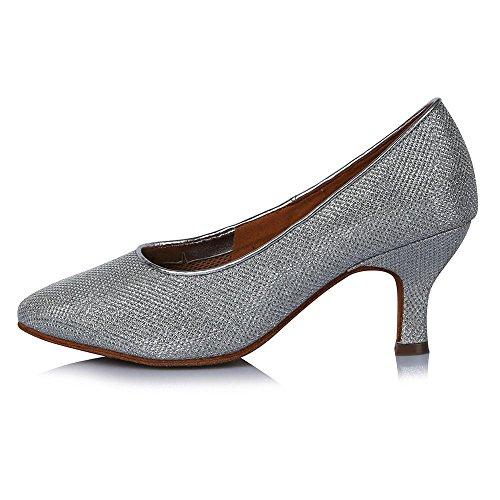 de danse chaussures 63mm YFF latine 30809 Talon bal moderne femmes pour heel tango Haut d'Amérique de CqCXY