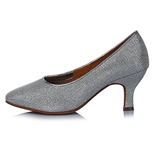 América Yff Moderna Heel De Tacón 63mm Mujer La Zapatos Alto Tango Baile Ballroom 30809 rqzRrvTwx