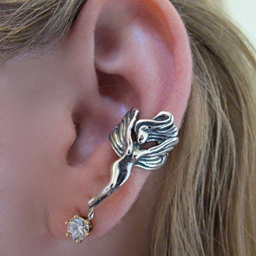 Sterling Silver Fairy Ear Cuff Elf Jewelry ()
