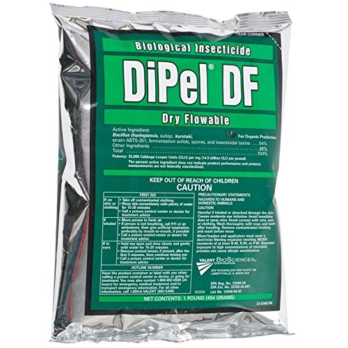 (Ship from USA) Dipel DF Organic Biological Insecticide 1lb Dry Flowable OMRI /ITEM NO#I-86/Q-UI754379289 Rei Insect Repellent