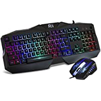 Rii RM400 Wireless RF Laser Gaming Mouse & Keyboard Combo