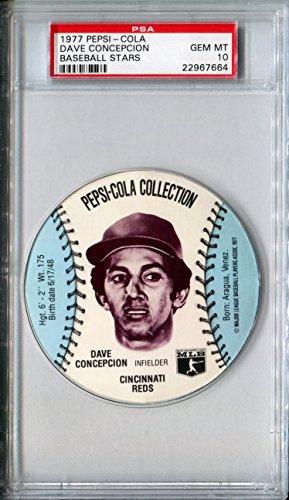 1977-msa-pepsi-cola-glove-sports-discs-dave-concepcion-rare-psa-gem-mint-10-sp-cincinnati-reds