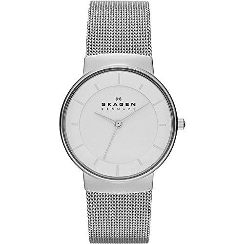SKAGEN Klassik Womens Three-Hand Stainless Steel Watch